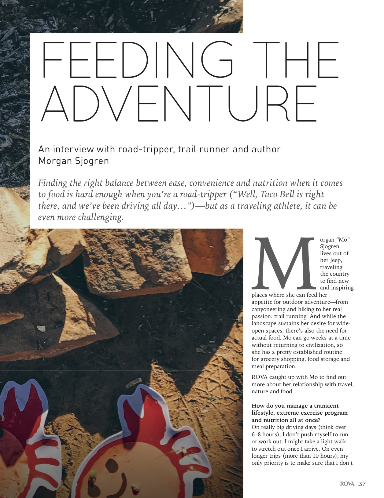 Feeding the adventure9